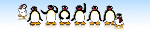 Pingu screensaver